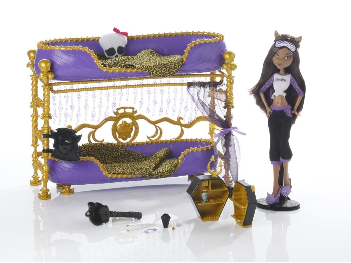 monster high dolls clawdeen wolf bed images
