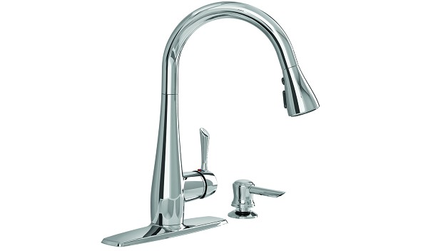 Olvera Kitchen Faucet With Soap Dispenser
