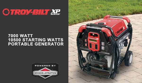troy bilt xp 7000 generator manual