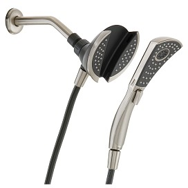 in2ition twoinone shower integrated handshower and showerhead design
