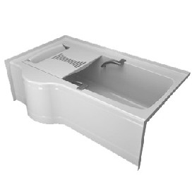 Delta 646032cl00 60 X 32 Transfer Bathtub L H