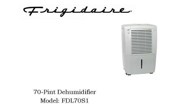 frigidaire frigidaire 70 pint dehumidifier fdl70s1 rh easy2diy com frigidaire dehumidifier model fdl70s1 manual frigidaire dehumidifier 70 pint model fdl70s1 manual