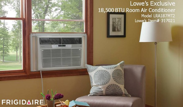 Lowes Exclusive 25000 BTU Electronic Room Air Conditioner