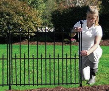 Empire fence for Easy fence installation