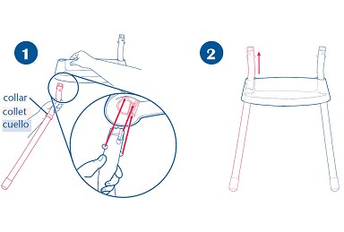 graco 3 in 1 highchair instructions