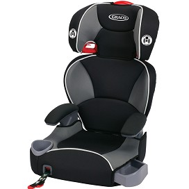 affix highback youth booster seat with latch system. Black Bedroom Furniture Sets. Home Design Ideas