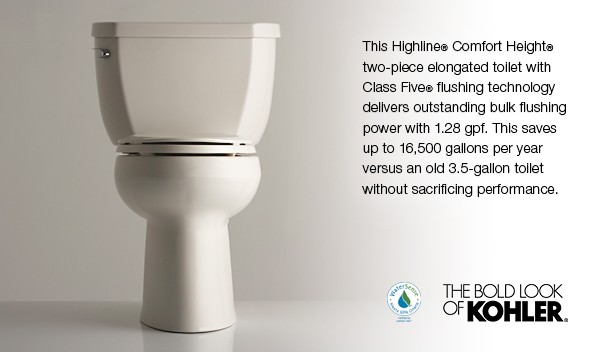 Highline 174 Classic 1 28 Gpf Elongated Toilet