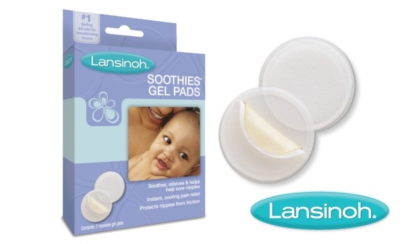Soothies for breastfeeding