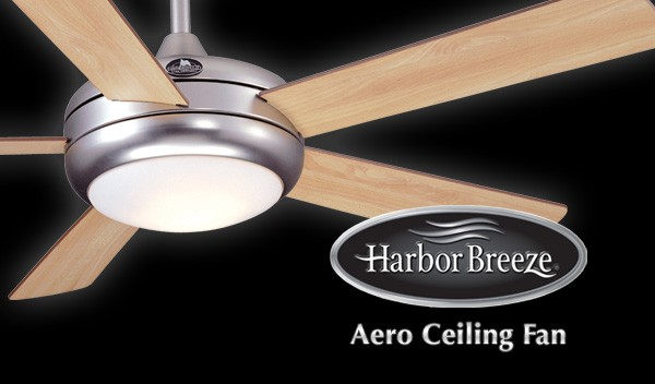 Harbor Breeze Aero Ceiling Fan