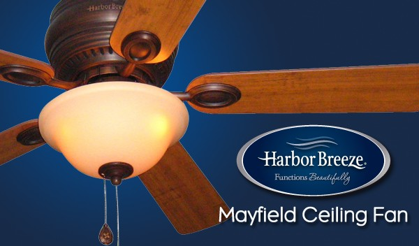 Harbor Breeze Mayfield Ceiling Fan