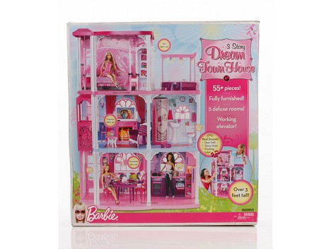 Barbie&#174; 3 Story Dream Townhouse&#8482; Packaging Image 12