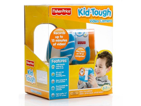 Fisher-Price&#174; Kid-Tough&#174; Video Camera - Packaged Blue Image 12