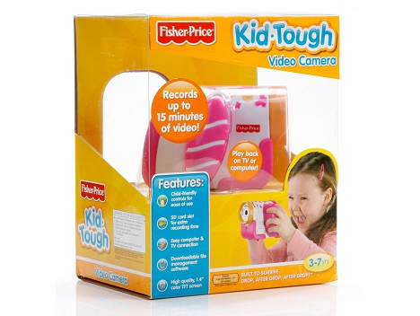 Fisher-Price&#174; Kid-Tough&#174; Video Camera - Packaged Pink Image 12