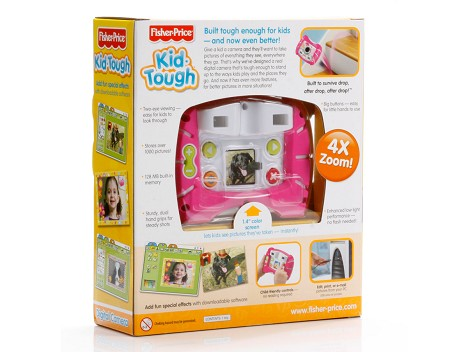 Fisher-Price® Kid-Tough® Digital Camera - Packaged Pink Image 12