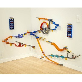 Hot wheels wall tracks starter set for Hot wheels wall tracks template