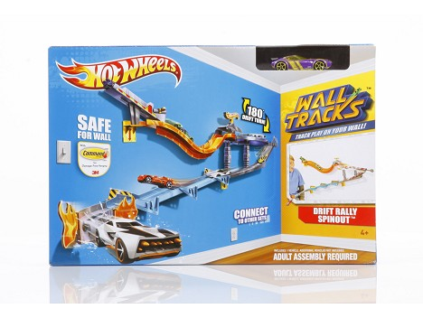 HOT WHEELS&#174; DRIFT RALLY SPINOUT&#8482; Track Set Image 12