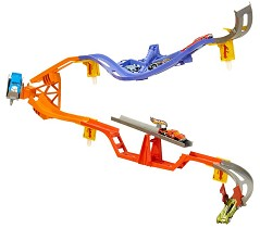 hot wheels wall tracks template - hot wheels daredevil curve track set