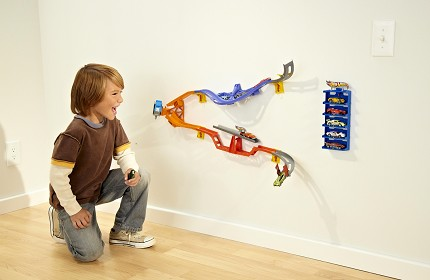 HOT WHEELS® DAREDEVIL CURVE™ Track Set