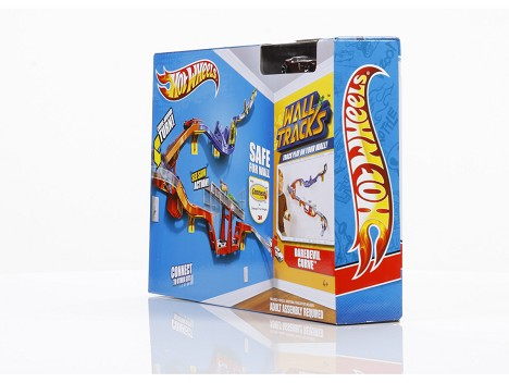 HOT WHEELS® DAREDEVIL CURVE™ Track Set Image 12