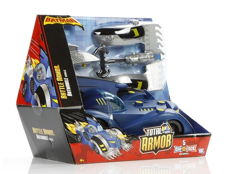 BATMAN Battle Armor® Batmobile Packaging Image 12