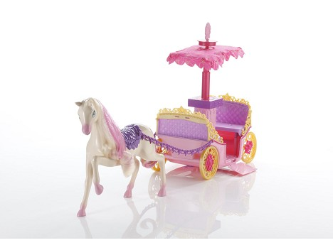 BARBIE™ PRINCESS CHARM SCHOOL Pop-up Canopy Carriage Image 12