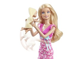 Barbie 174 I Can Be Baby Sitter Playset