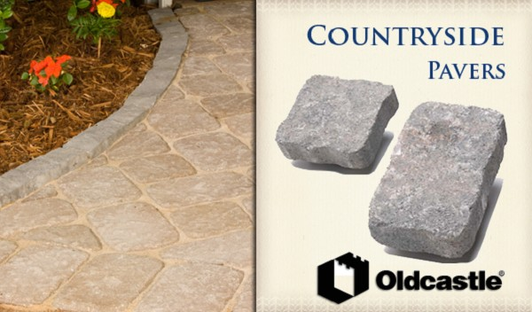 Oldcastle Countryside Pavers