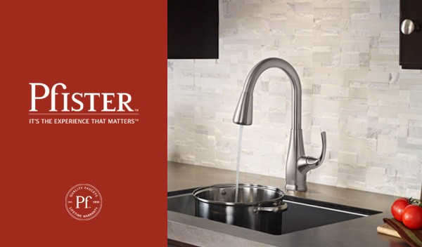 Pfister Selia Pull Down Kitchen Faucet, Featuring AccuDock™