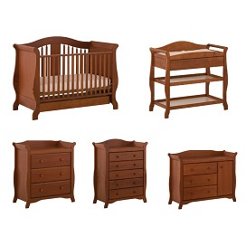 View A Matching Set. Stork Craft Aspen Stages Fixed Side Crib. Stork Craft  Aspen Changing Table