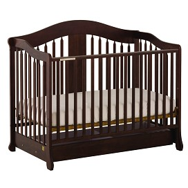 Stork Craft Rochester Stages Fixed Side Crib