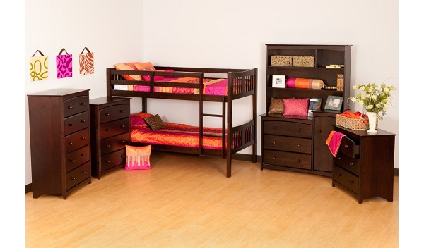 Intro - Stork Craft Caribou Twin Over Twin Bunk Bed