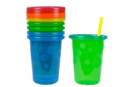 10oz. Straw Cups