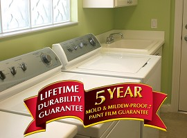 5 Year Mold Mildew Proof Warranty For Perma White Interior Ask Home Design