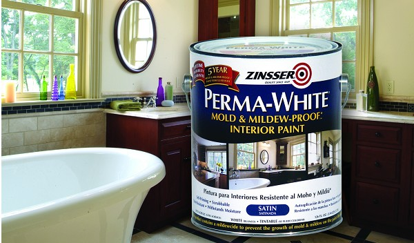 Zinsser Perma White Mold And Mildew Proof Interior Paint