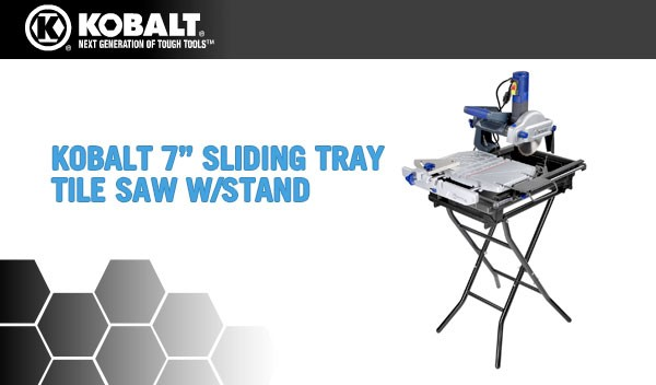 kobalt tile saw replay next section this box 707
