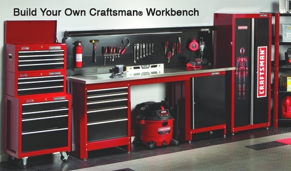 used store fixtures for garages idaho falls ideas - Craftsman Workbench